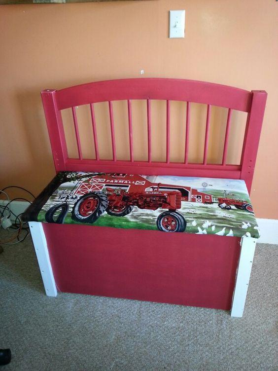 ... toy box | Kathi Kountry Krafts | Pinterest | John deere, Twin and Nice