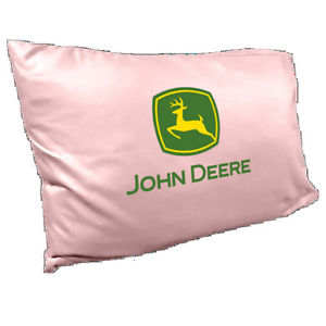 ... > See more John Deere Trademark Pillow Case Pink - LP4768