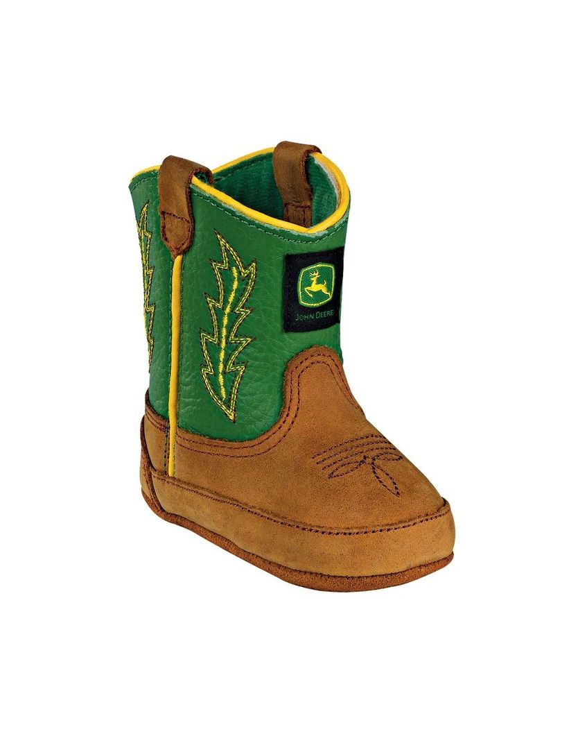 John Deere | Crib Classic Pull-On Boot - Green | Country Outfitter