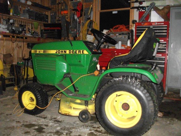 John Deere 212 info wanted - John Deere Tractor Forum - GTtalk