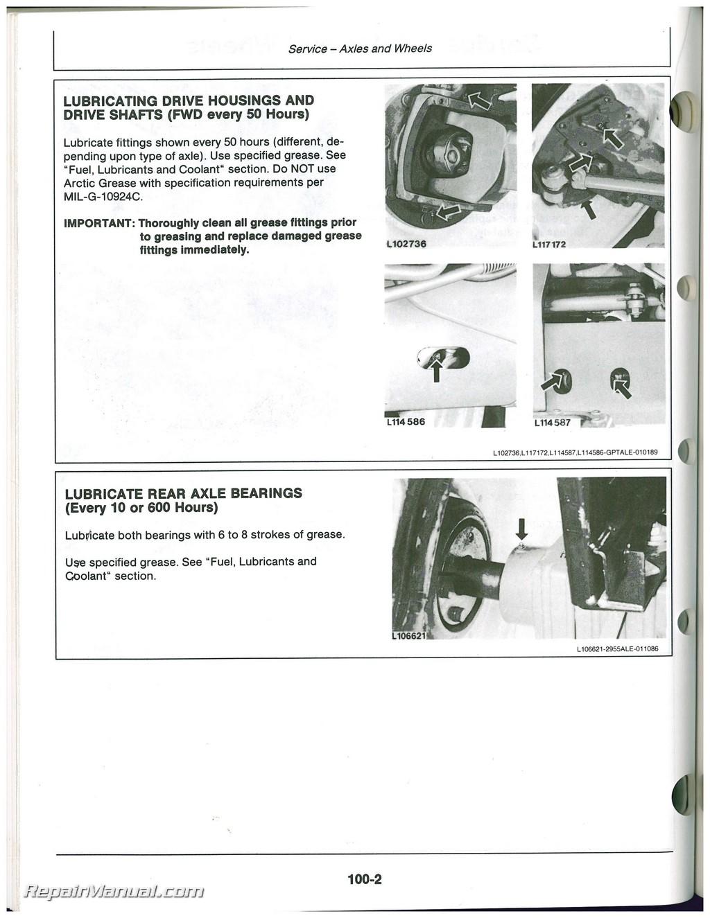 Used John Deere 2155, 2355 2555 and 2755 Tractors ...