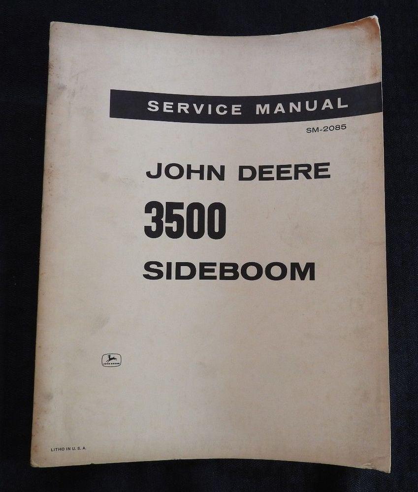 1967 JOHN DEERE JD350 400 JD450 JD500 JD600 TRACTOR 3500 ...