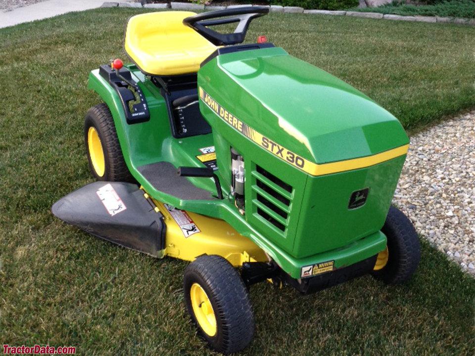 TractorData.com John Deere STX30 tractor photos information