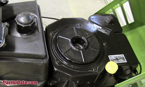 TractorData.com John Deere STX30 tractor engine information