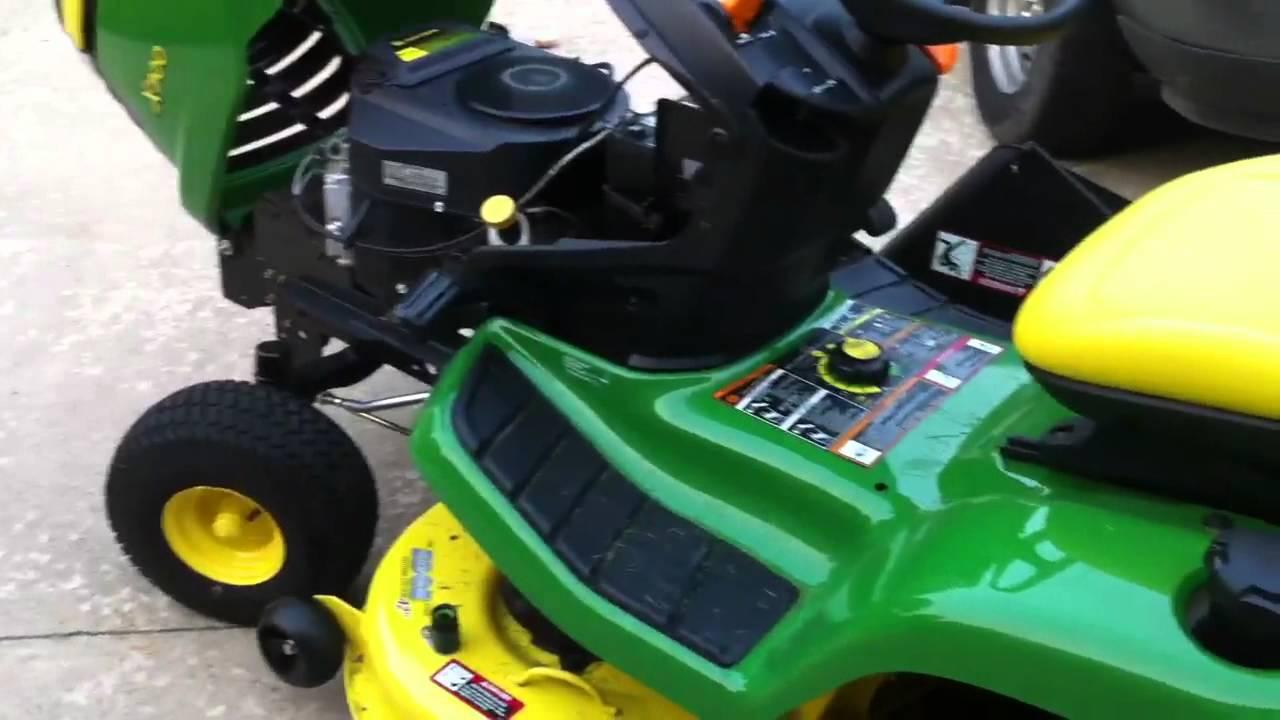 John Deere X300 - Short overview - YouTube