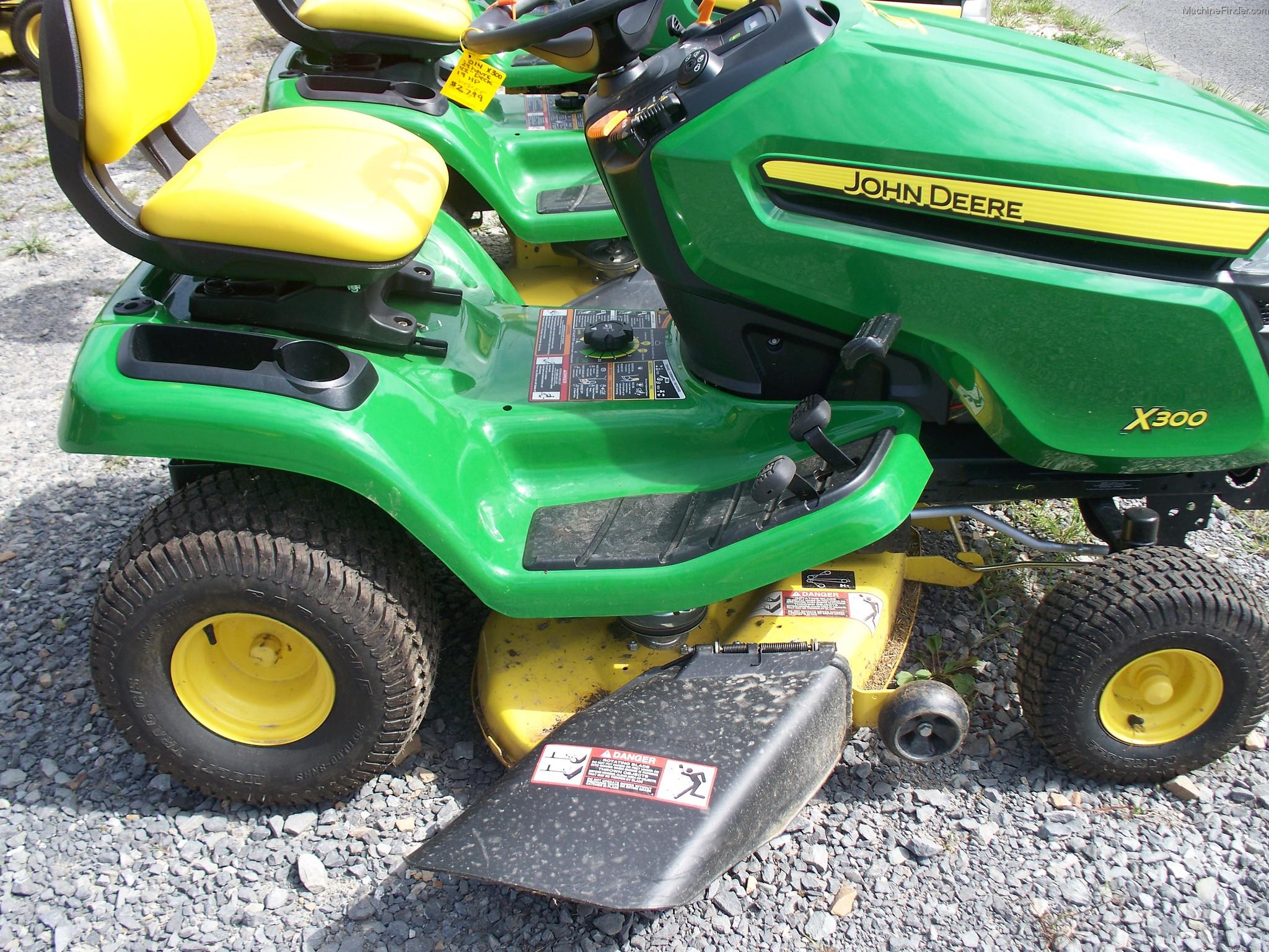2014 John Deere X300 Lawn & Garden and Commercial Mowing ...