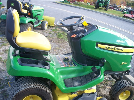 John Deere X300 Lawn & Garden and Commercial Mowing - John ...