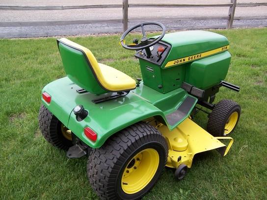 John Deere 316 Lawn & Garden and Commercial Mowing - John ...