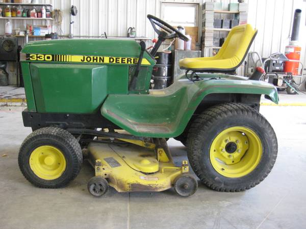 John Deere 330 Diesel Lawn Mower (Plainview Ne ...