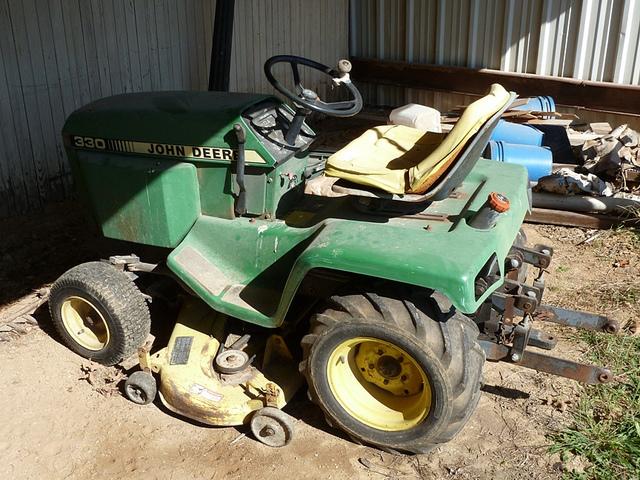 John Deere #330 diesel lawn tractor | Flickr - Photo Sharing!