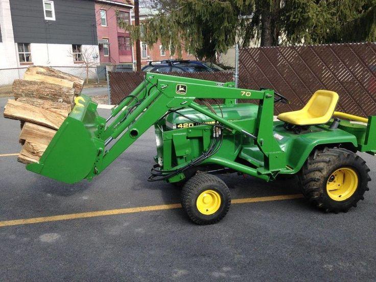 John Deere 420 Lawn Tractor | Gardens, John deere and Tractors
