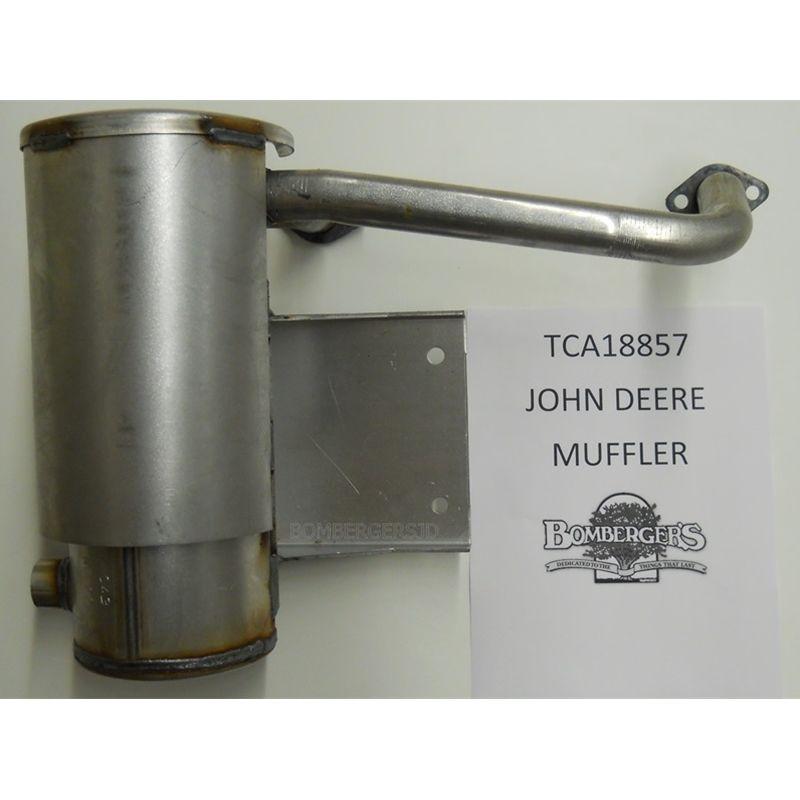 John Deere Muffler with Gaskets TCA18857 M136651 737 757 ...