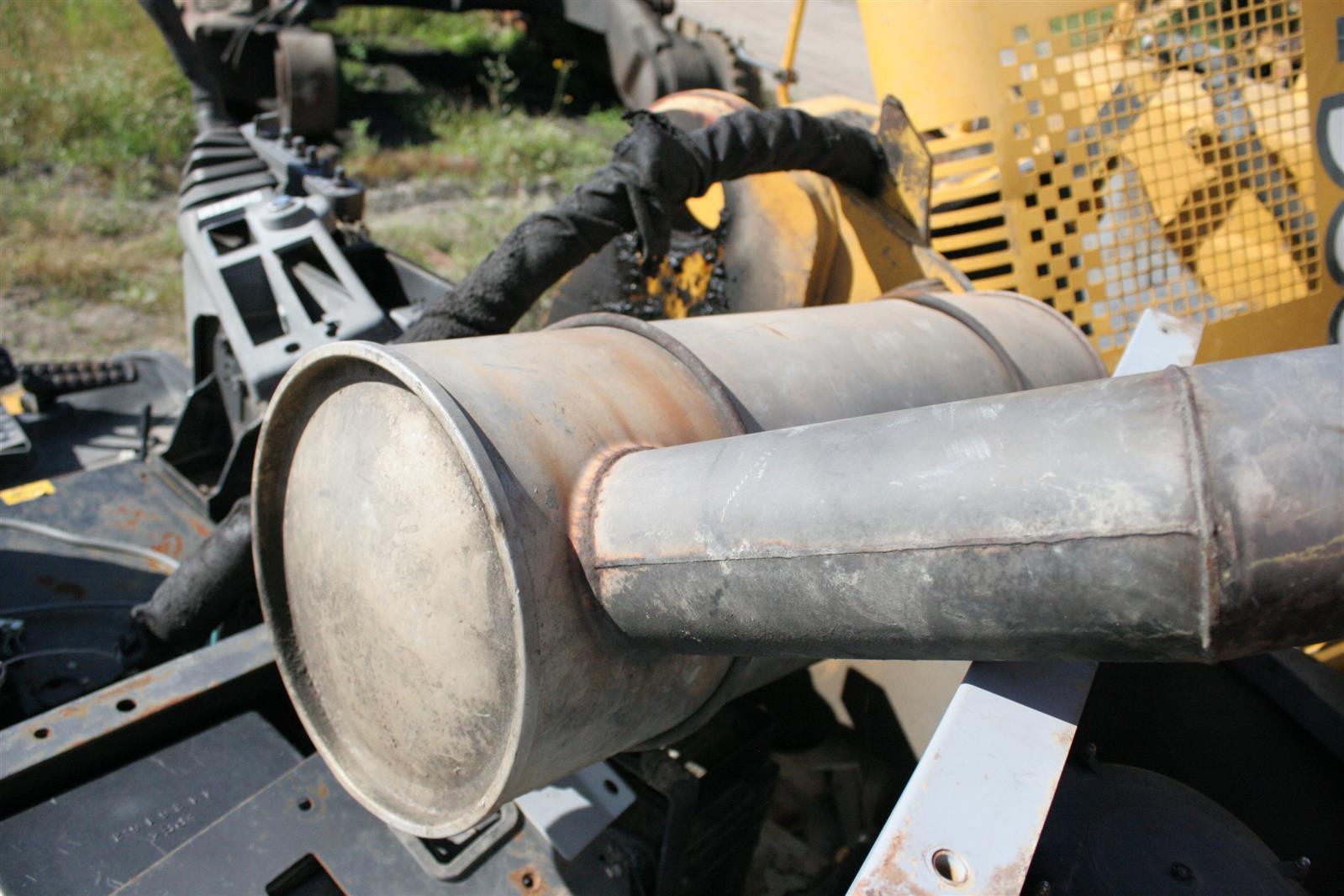 Mufflers - Heavy equipment parts