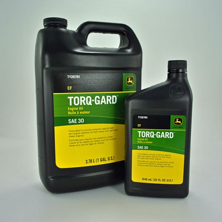 John Deere SAE 30 Torq-Gard Engine Oil TY26790 TY26791