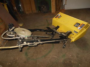 John Deere 30 Mechanical Tiller off 325 335 345 355D ...