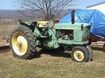 Used Farm Tractors for Sale: John Deere 2010 Diesel (2005 ...