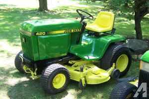 John Deere 420 Garden Tractor - (Derby) for Sale in ...