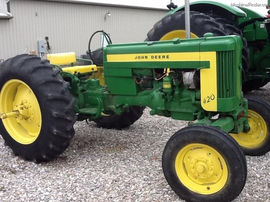1957 John Deere 420 Tractors - Utility (40-100hp) - John ...