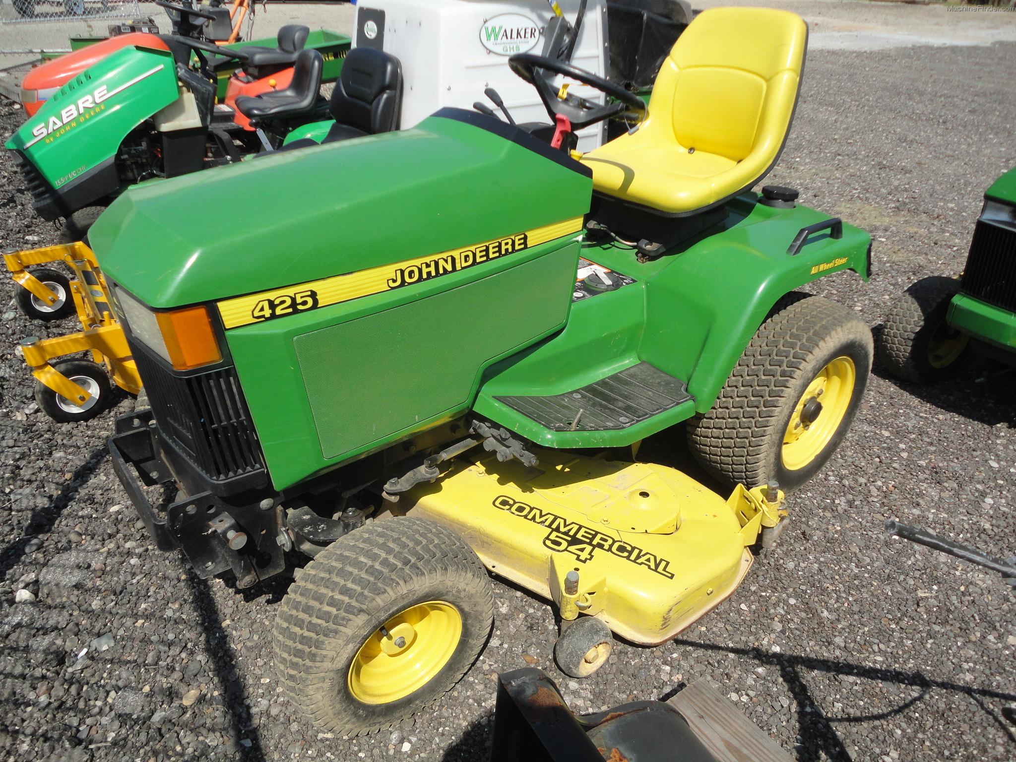 John Deere 425 Lawn & Garden and Commercial Mowing - John ...