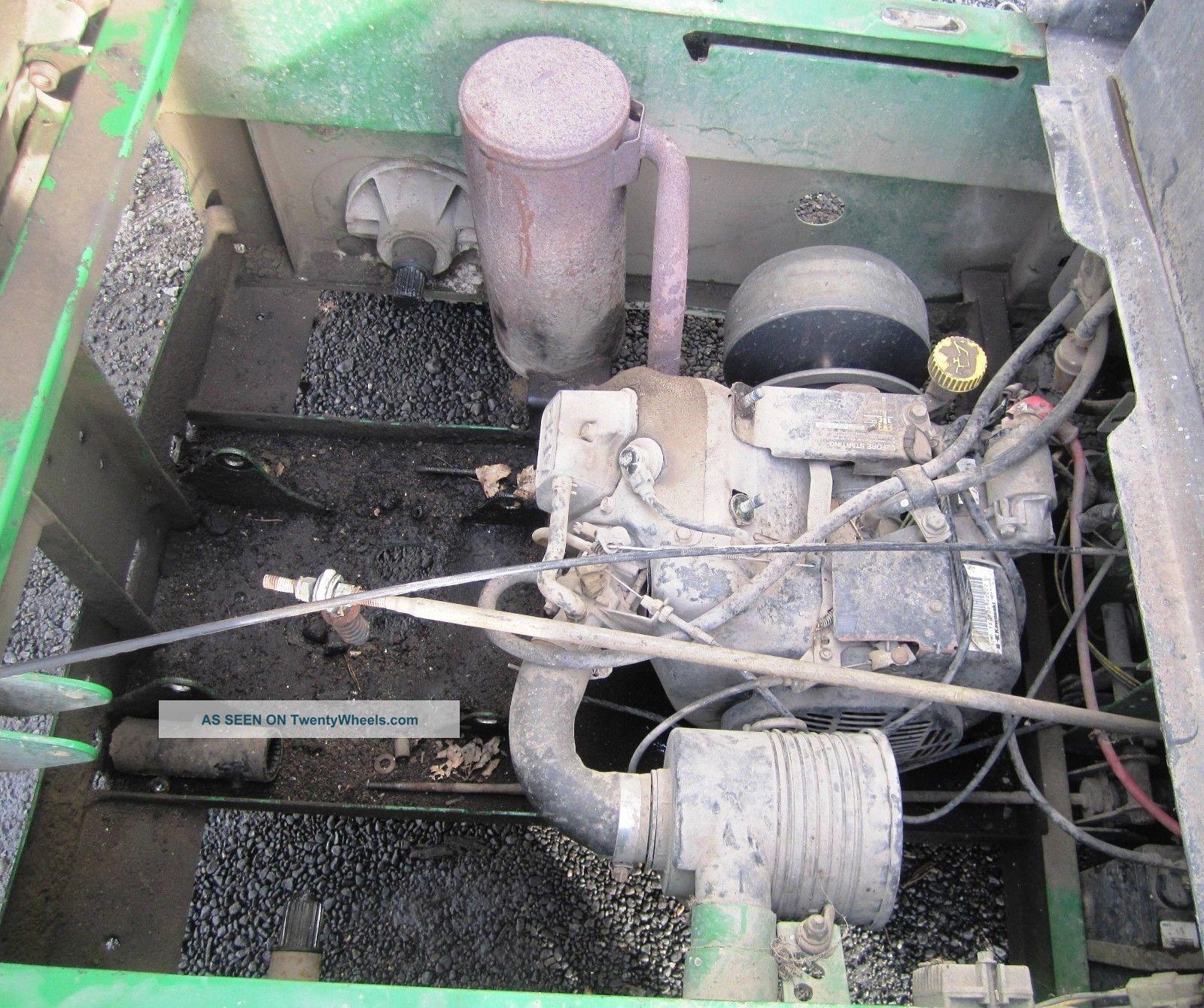 John Deere 4x2 Gator Utility Vehicle - Gas - - Parts Only ...
