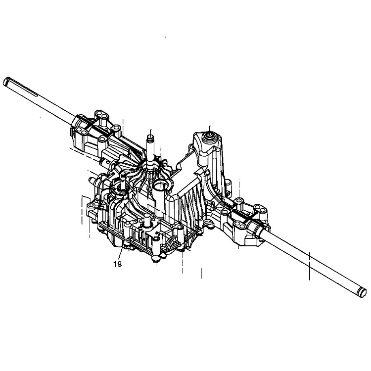 John Deere Transmission Assembly - MIA10910