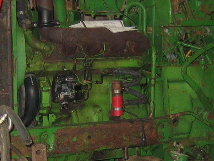 Tank Heater Installation on 2030 - Yesterday's Tractors