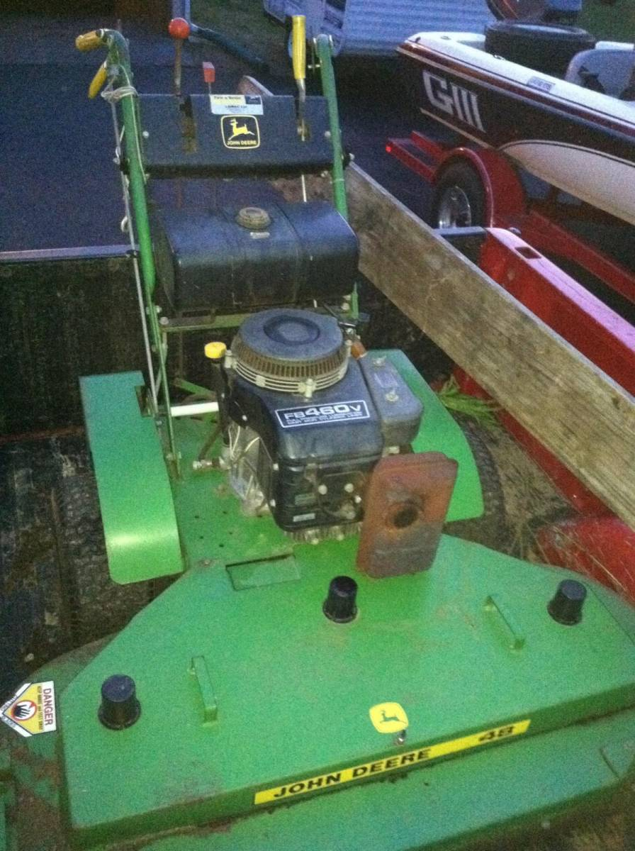 48'' John Deere Walk Behind mower | Free Classifieds- Buy ...