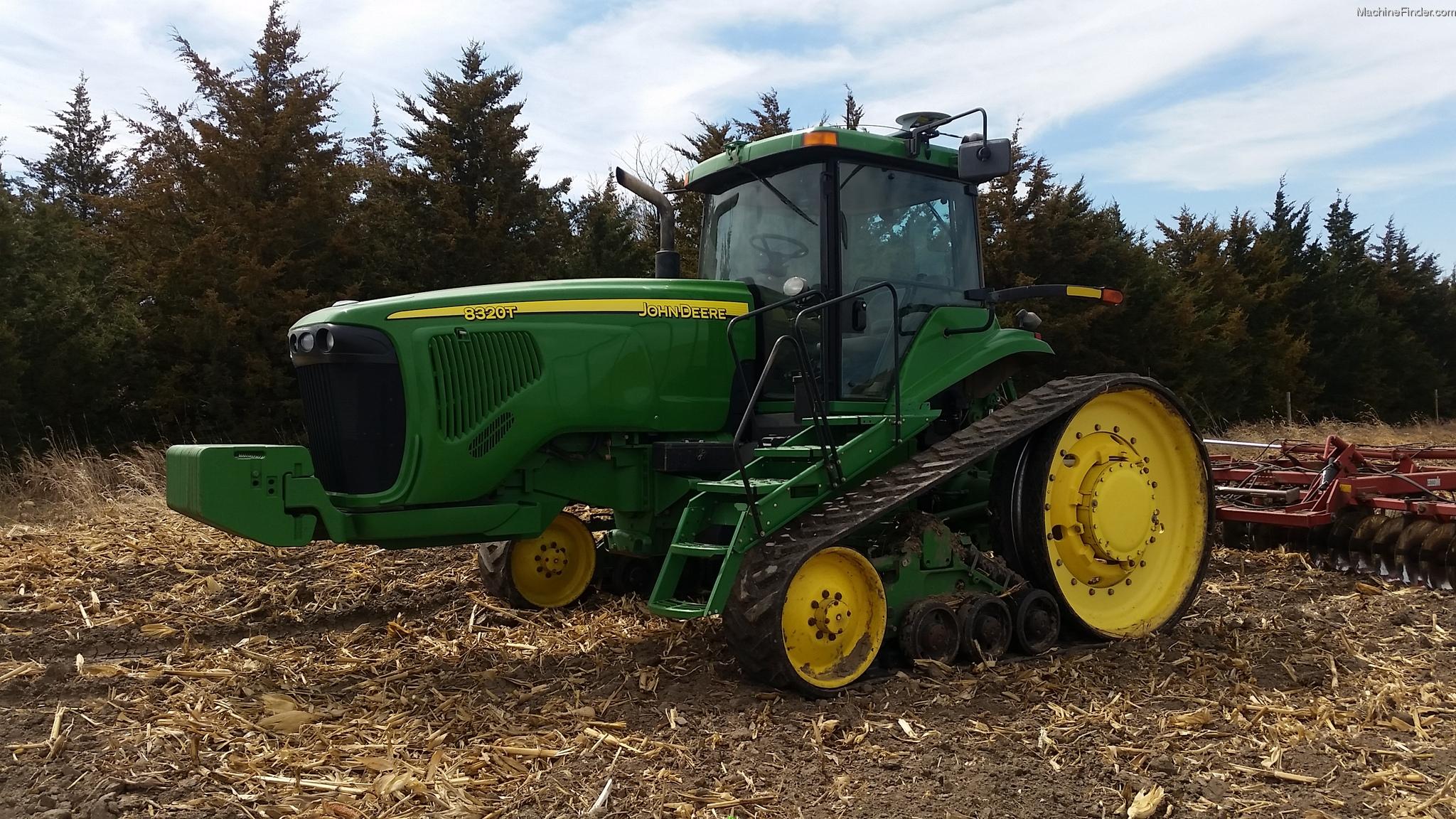 2002 John Deere 8320T Tractors - Row Crop (+100hp) - John ...