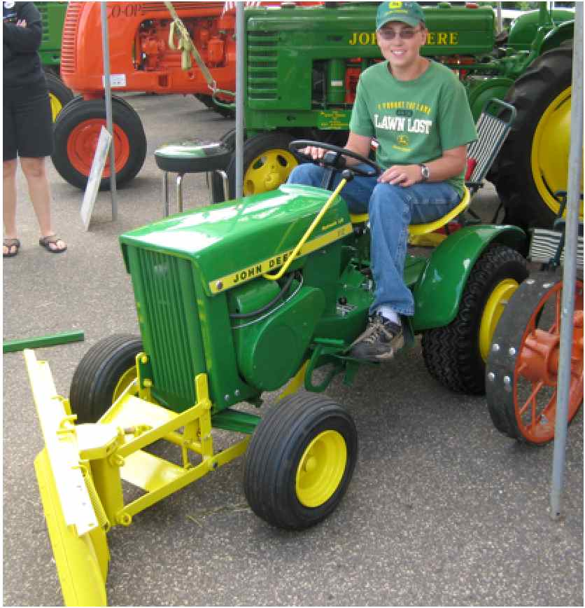 Use the John Deere 112 Tractor for Lawn Care Maintenance ...