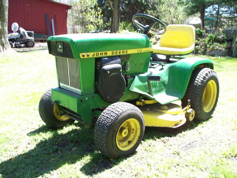 CRX Community Forum • View topic - John Deere 112 Tractor