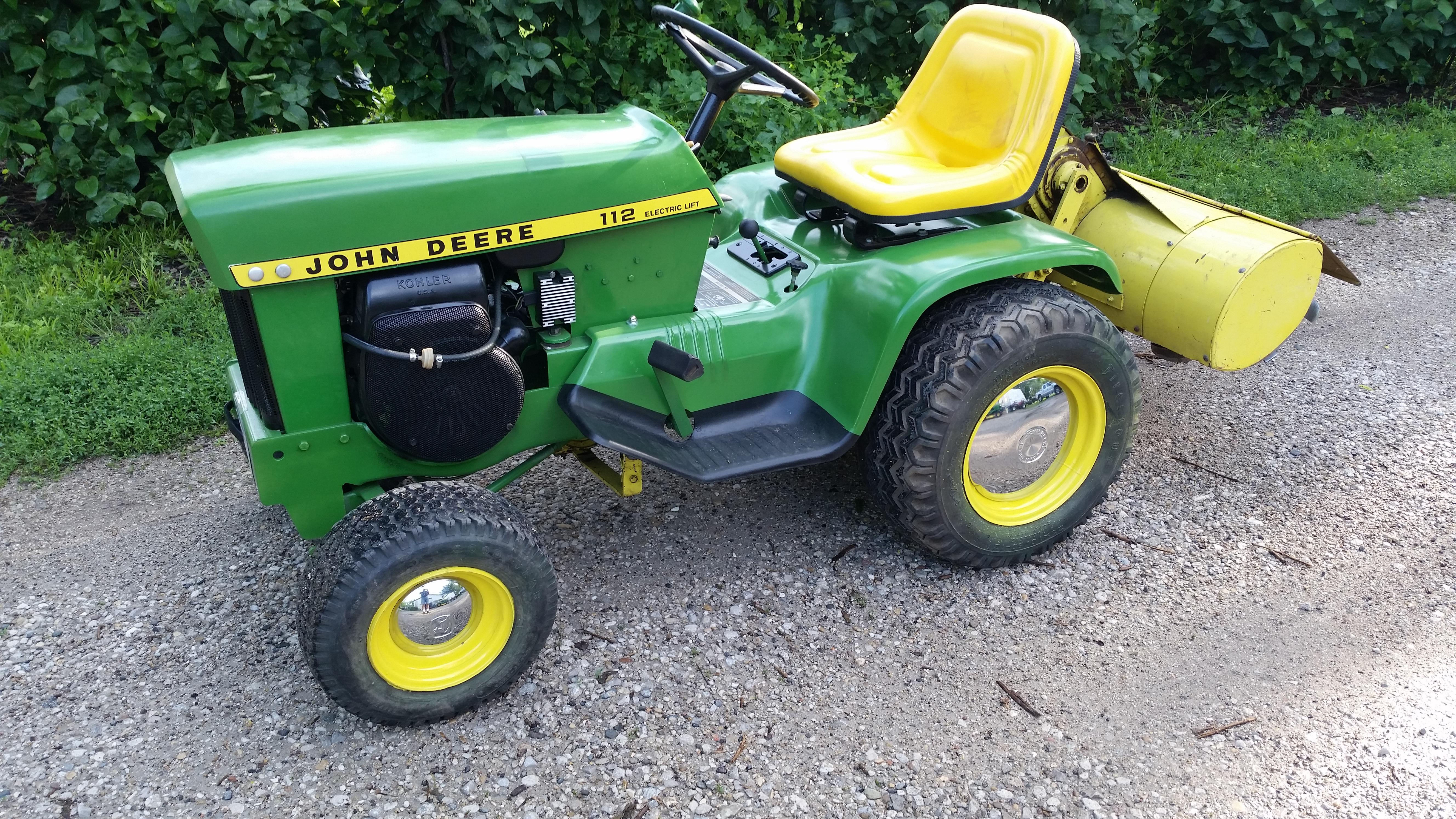 1974 John Deere 110 112 140 Lawn Tractors Ad 260737186347 ...