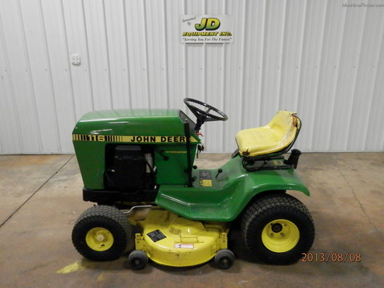 John Deere 116 Lawn & Garden and Commercial Mowing - John ...
