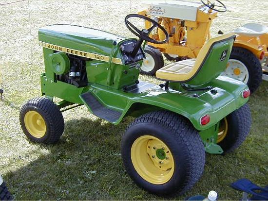 John Deere 120 garden tractor. This page is dedicated to ...