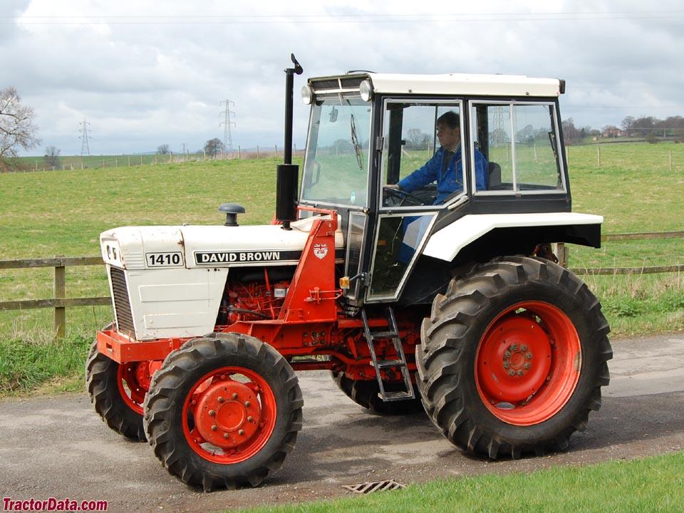 David Brown 1410   Tractors made in Great Britain ...