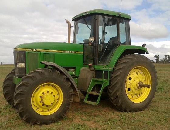 John Deere 7700 Mfd Tractor 150 Hp | Machinery & Equipment