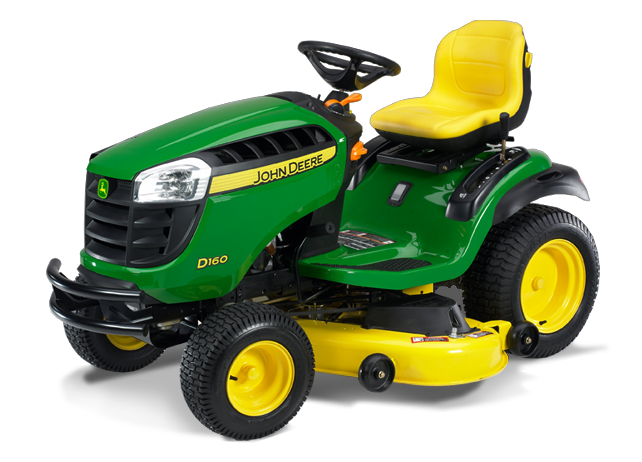 John Deere 160 Lawn Tractor & The Essentials for a Greener ...