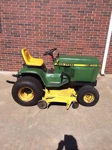 John Deere 400 Garden Tractor 60 034 Mower Deck Kohler ...