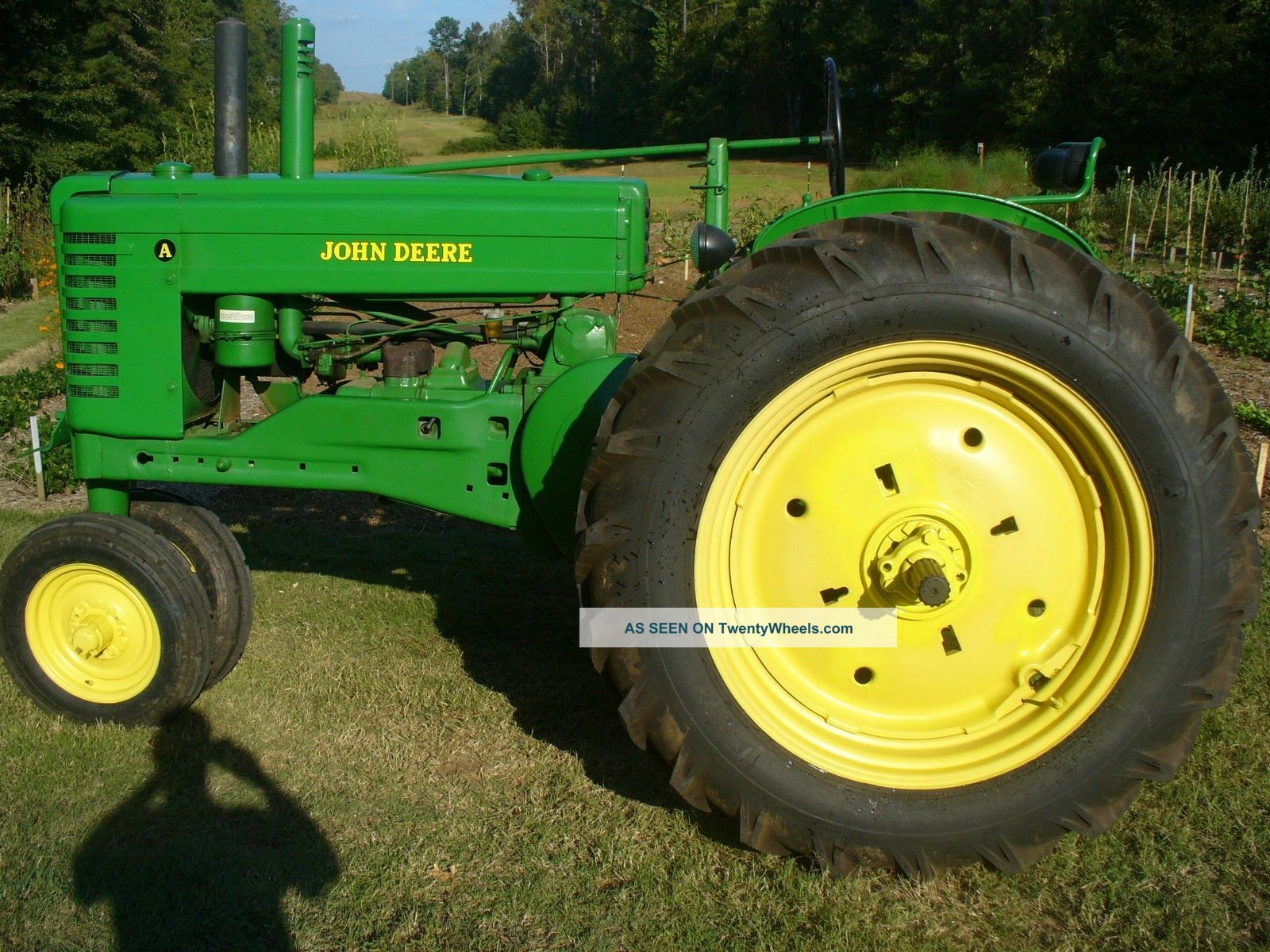 Antique John Deere A Tractor