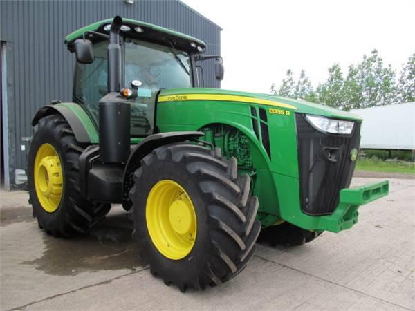 Used John Deere 8335R tractors ads for sale - Mascus UK