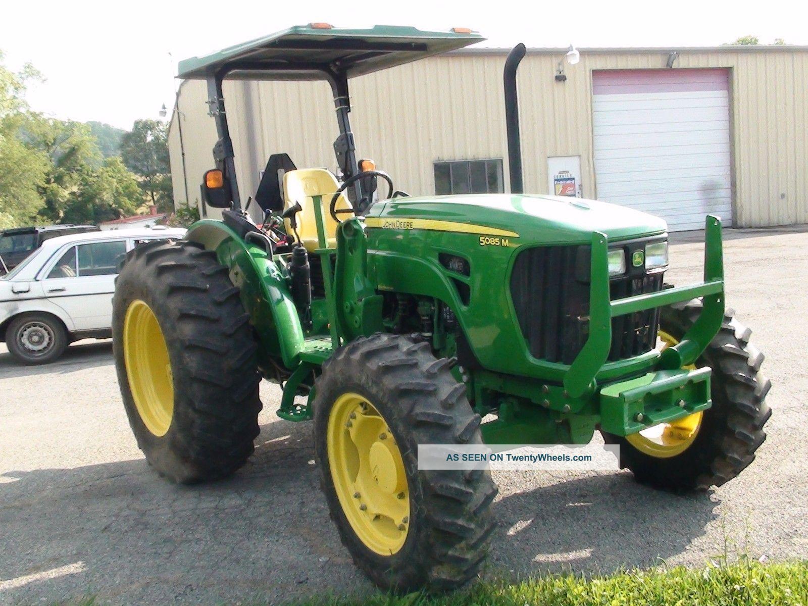 2010 John Deere Tractor 5085m