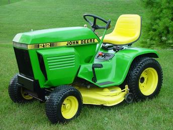 1979 John Deere 212 Antique Tractor