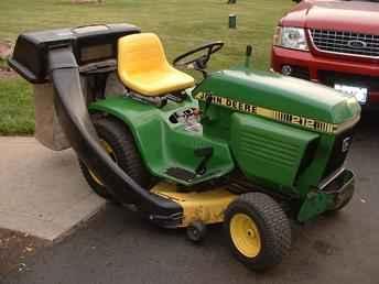 Used Farm Tractors for Sale: John Deere 212 Garden Tractor ...