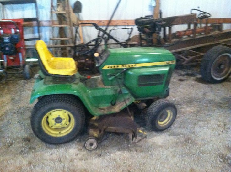 John Deere 212 lawn mower | I'm a John Deere man here ...