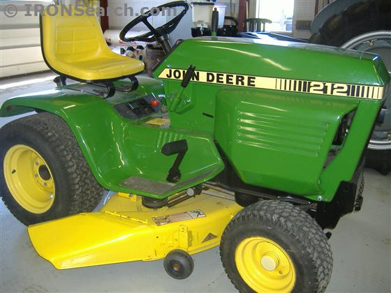 1989 John Deere 212 Lawn Tractor | IRON Search
