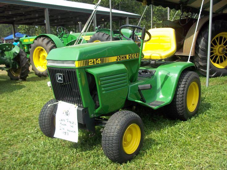 214 garden tractor | John Deere equipment | Pinterest