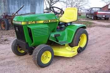 Used Farm Tractors for Sale: John Deere 214 Mower (2006-05 ...