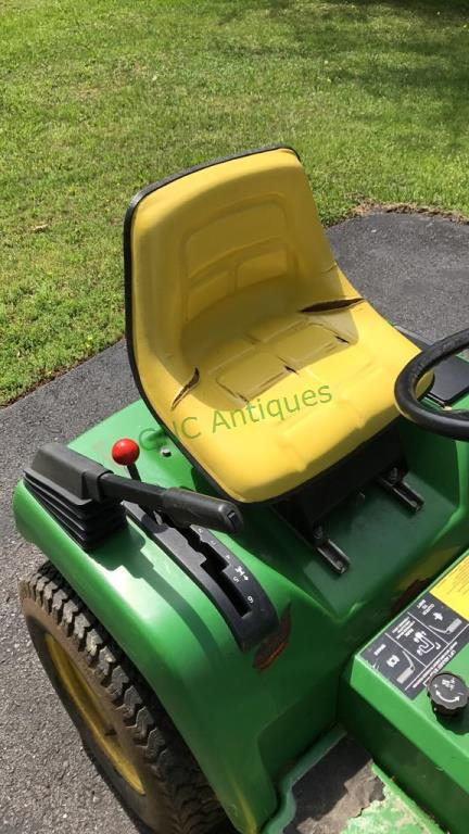 John Deere model 240 lawn and garden tractor with