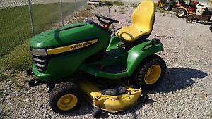 John Deere X540 Garden Tractor - 26 hp liquid cooled V ...