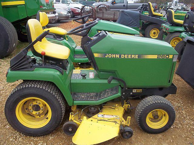 1989 John Deere 260 Lawn & Garden and Commercial Mowing ...