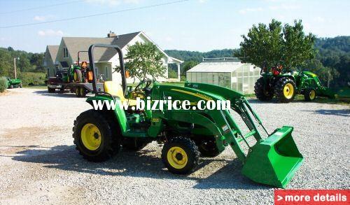 John Deere 4200 28 HP Mfwd Tractor 300x Loader / United ...
